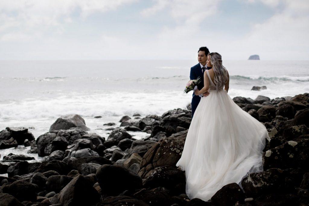 hotwaterbeach coromandel wedding