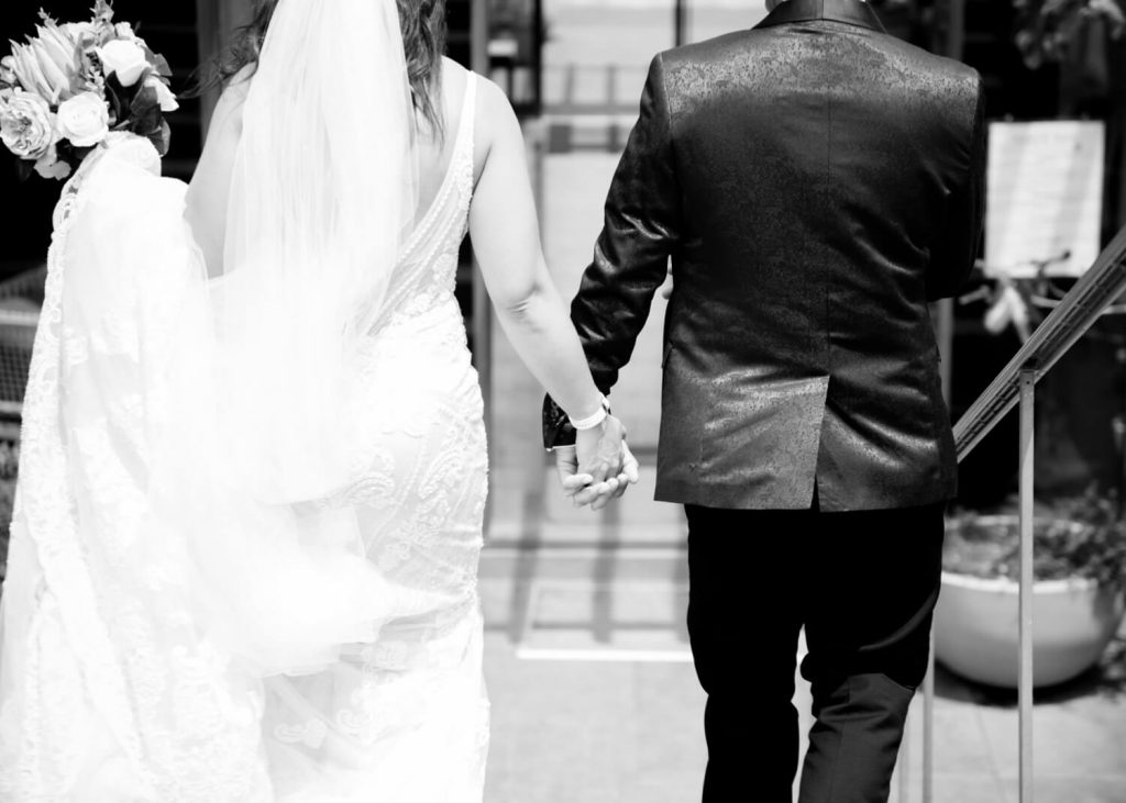 wedding justmarried